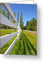 Sunny Pasture Greeting Card