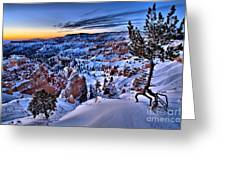 Sunrise At Bryce Greeting Card