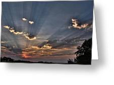 Sunrise Glory Greeting Card