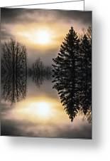Sunrise-sundown Greeting Card