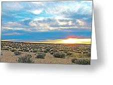 Sunset At Alstrom Point In Glen Canyon National Recreation Area-utah Greeting Card