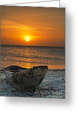 Sunset In Zanzibar - Kendwa Beach Greeting Card