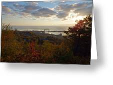 Superior View Greeting Card