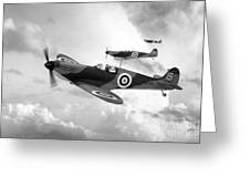 Supermarine Spitfire Mk I Greeting Card