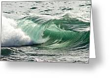 Surf Zone At The Barents Sea Coast Greeting Card