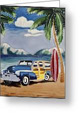 Surfers Dream Greeting Card by Kip Krause