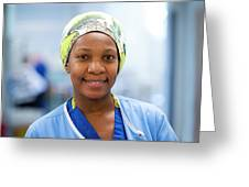 Surgical Staff Greeting Card