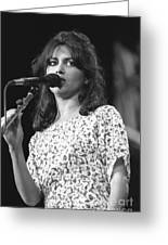 Susanna Hoffs Greeting Card