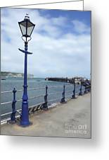 Swanage Pier Greeting Card