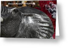 Sweet Home Alabama Greeting Card by Kathy Clark