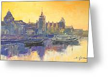 Szczecin - Poland Greeting Card