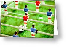 Table Football Greeting Card