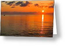 Tangerine Dawn Greeting Card