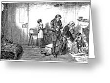 Temperance Movement, 1847 Greeting Card