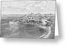 Tenby Harbor Greeting Card