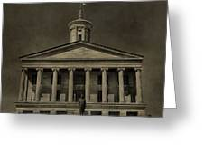 Tennessee Capitol Building Greeting Card
