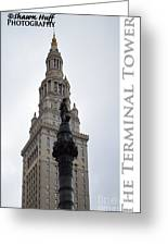 Terminal Tower Greeting Card
