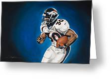 Terrell Davis  Greeting Card