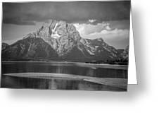 Teton National Park Greeting Card by Oleksii Khmyz