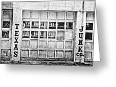 Texas Junk Co. Greeting Card