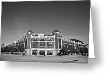 Texas Rangers Ballpark In Arlington Greeting Card