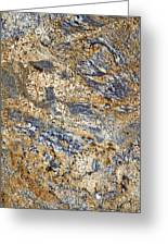 Texture Of Marble Background Closeup  Greeting Card