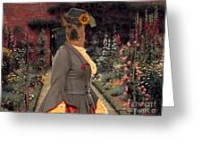 Thai Ridgeback Art Canvas Print Greeting Card