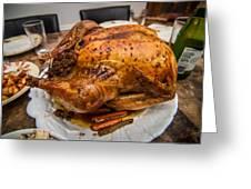 Thanksgiving Turkey Dinner Greeting Card