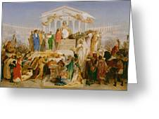 The Age Of Augustus The Birth Of Christ Greeting Card