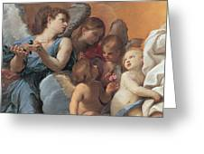 The Assumption Of The Virgin Mary Greeting Card