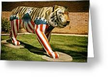 The Auburn Tiger Greeting Card