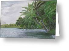 The Backwaters Greeting Card