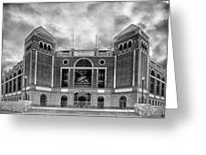 The Ballpark In Arlington Greeting Card