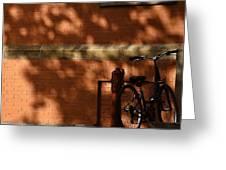 The Bike  Greeting Card