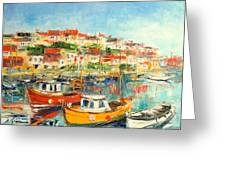 The Brixham Harbour Greeting Card