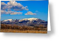 The Butte Greeting Card
