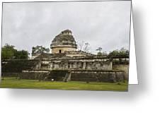 The Castillo In Chichen Itza Greeting Card