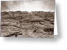 The Cliffs At Torrey Pines San Deigp Greeting Card