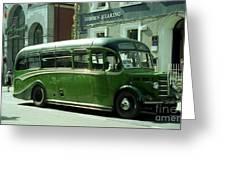 The Connemara Bus Greeting Card