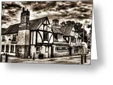 The Cross Keys Pub Dagenham Greeting Card