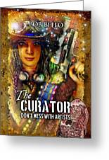 The Curator Greeting Card