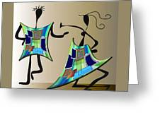 The Dancers Greeting Card