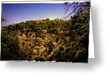 The El Tovar Hotel At The Grand Canyon Greeting Card