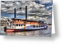 The Elizabethan Paddle Steamer Greeting Card