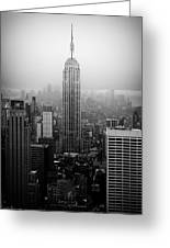 The Empire State Building In New York City Greeting Card