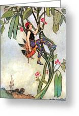 The Fairy Book Greeting Card