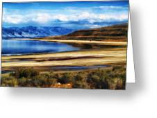 The Great Salt Lake Greeting Card