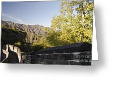The Great Wall 1064 Greeting Card