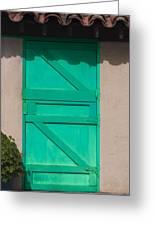 The Green Door Greeting Card