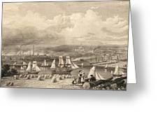 The Haematite Ironworks, Barrow Greeting Card